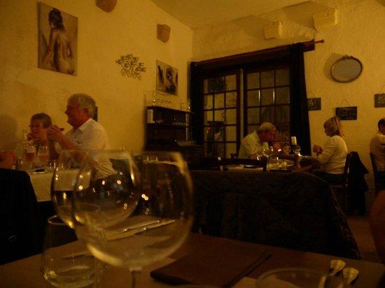 L'Assiette de Foie Gras :                   Interior del restaurante