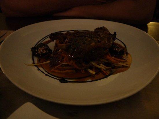 L'Assiette de Foie Gras :                   Confit de pato excelente
