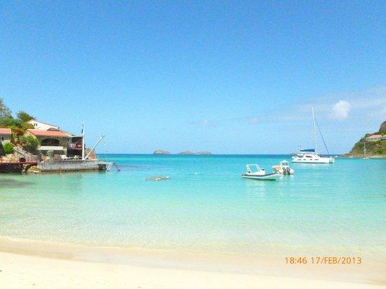 Tom Beach Hotel:                   La plage de St. Jean