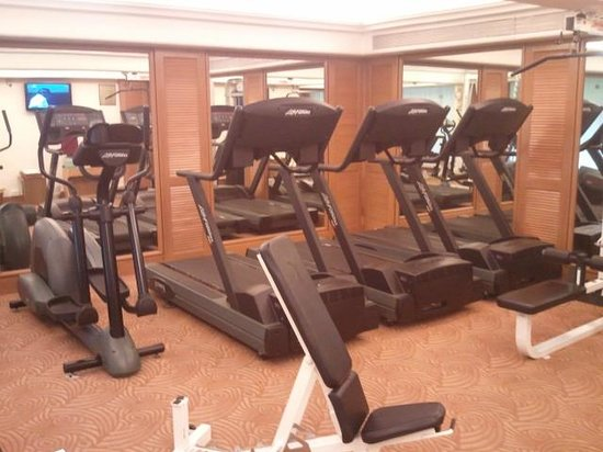 The Residence Hotel & Apartments:                                                       The gym