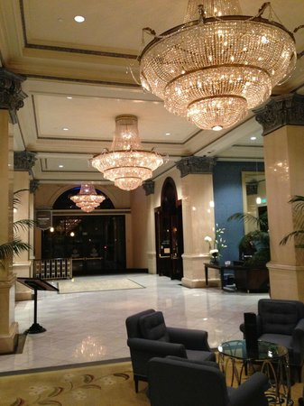 THE US GRANT, a Luxury Collection Hotel, San Diego: Beautiful Lobby
