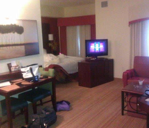 Residence Inn Gainesville I-75 : Living