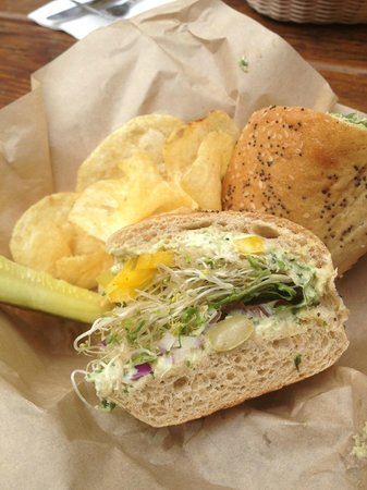 The Yellow Deli:                   Yellow Submarine with Chips