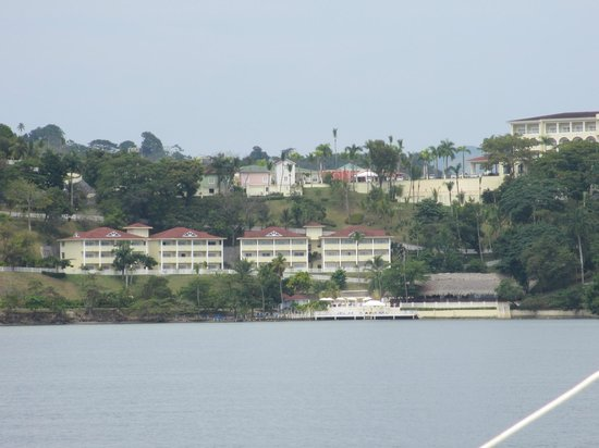 Grand Bahia Principe Cayacoa:                   View from the water
