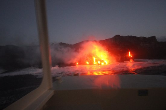 Lava Ocean Tours Inc:                   Just before sunrise