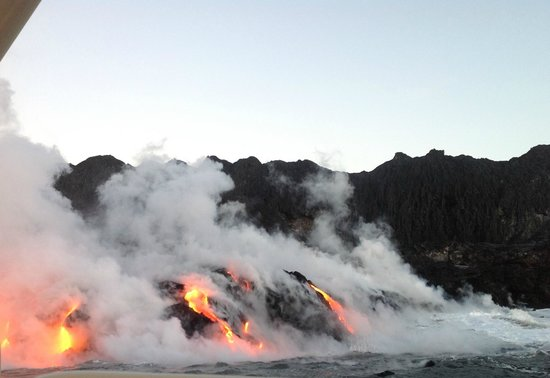Lava Ocean Tours Inc:                   Close to shore