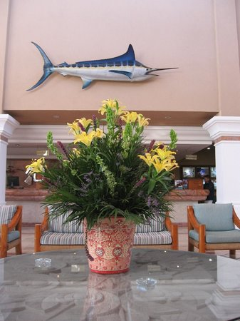 El Cid Marina Beach Hotel: lobby