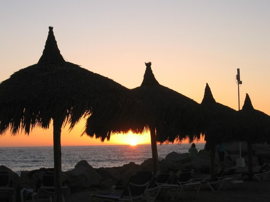 El Cid Marina Beach Hotel: sunset