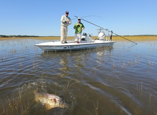 The top 10 things to do near james island county park for Charleston inshore fishing charters