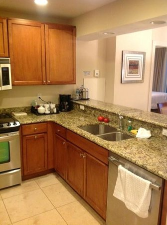 The Westin Cape Coral Resort At Marina Village:                   Full Kitchen