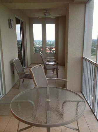 The Westin Cape Coral Resort At Marina Village:                   Balcony