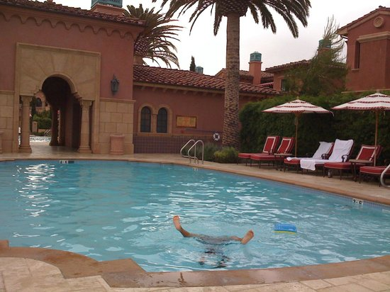 Fairmont Grand Del Mar:                   main pool