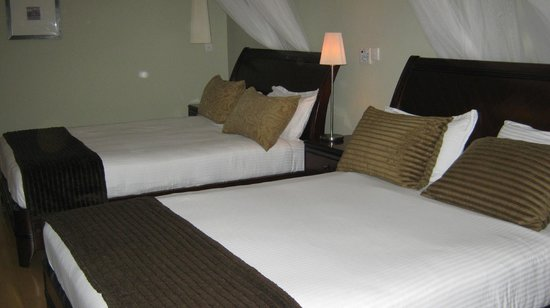 The Arusha Hotel:                                     chambre
