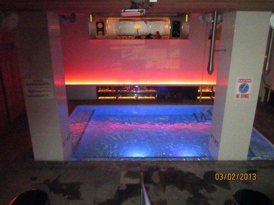 Room Mate Grace:                   Pretty pool / bar area