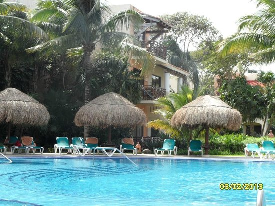 Occidental at Xcaret Destination:                   Awesome pools