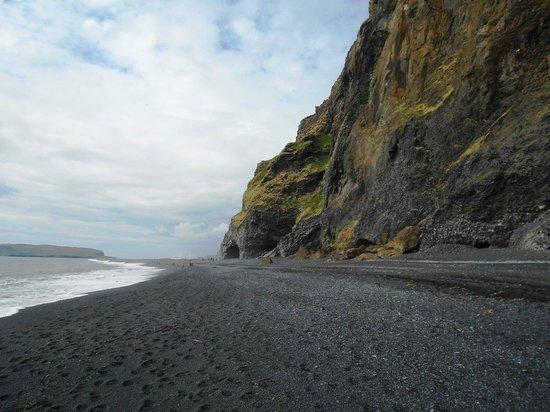 H Lsanefshellir Cave Picture Of Black Sand Beach Vik