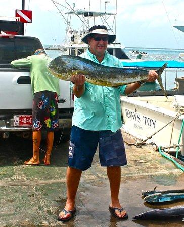 Teaser Charters :                   Nice Dorado about 25 pounds