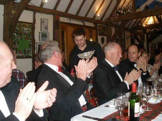 The Bolton Arms: Burns Night 2013 - 2014 Fully Booked, thank you