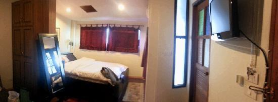 บ้าน ฮานิบะ เบด แอนด์ เบรคฟาสต์: upstairs twin room