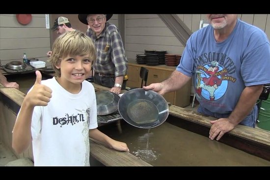 Consolidated Gold Mine: Panning for gold