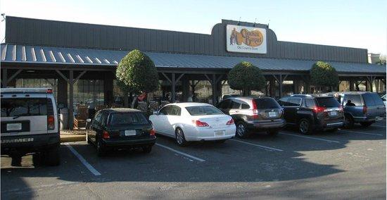 Front view of Ocala Cracker Barrel