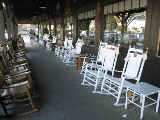 Ocala Cracker Barrel Front Porch