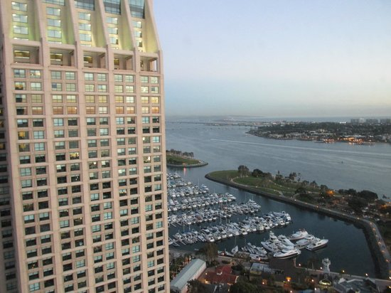 Manchester Grand Hyatt San Diego:                   view across the bay