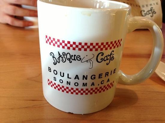 Basque Boulangerie Cafe :                                     coffee mug