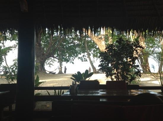 Kohjum Joy Bungalow:                   view for the restaurant