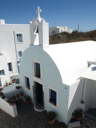 Aethrio Hotel:                                     Hotel chapel