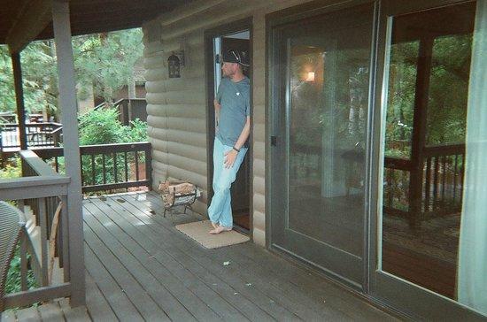 L'Auberge de Sedona: Our front deck