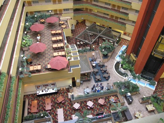 Embassy Suites by Hilton Baltimore BWI - Washington Intl. Airport: Bar and restaurant area