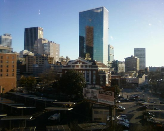 Castleberry Inn & Suites - GA Dome:                                                       view of downtown Atlanta