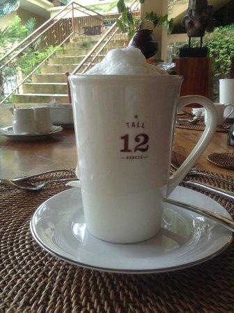 Villa Selat:                   morning latte! :)
