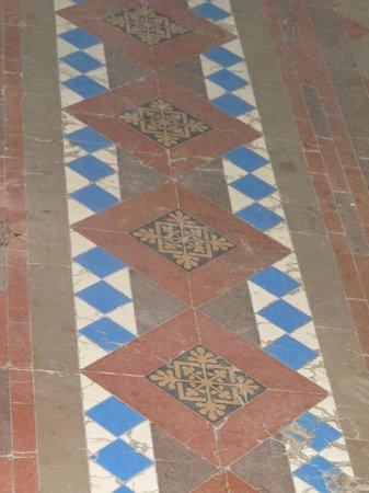 Tabor Opera House:                                     Interesting Flooring