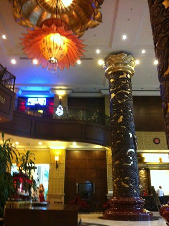Imperial Hotel:                   Hotel entry area : a bit like a temple, traditional, nice