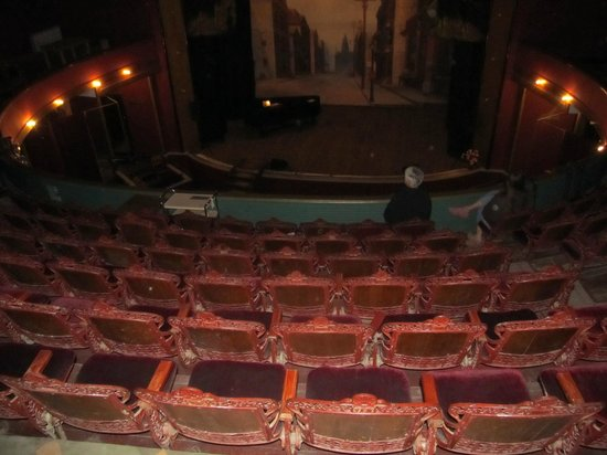 Tabor Opera House:                                     More Stage Views