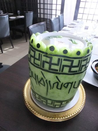 """Four Points by Sheraton Lhasa: lunch at the restaurant, with a very nice """"bowl"""""""