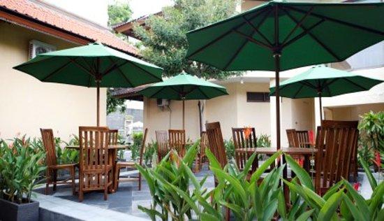 Sandat Hotel Legian : Breakfast Venue
