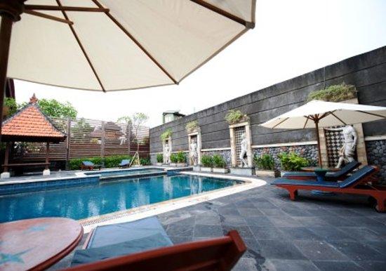 Sandat Hotel Legian : Pool View