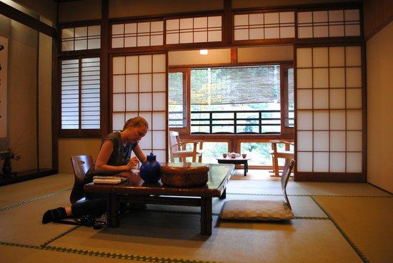 Watanabe Inn:                   The room