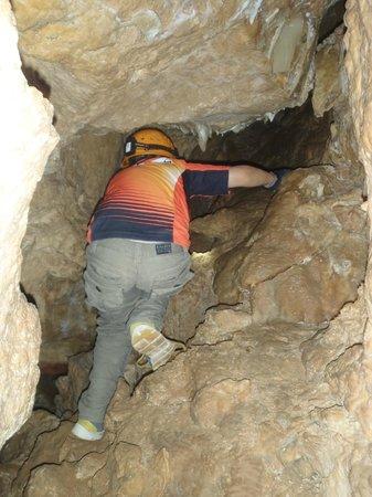 Ngilgi Cave:                   The boy on the move