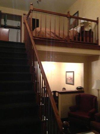 كومفرت سويتس أبليتون إيربورت:                   Two story suite                 