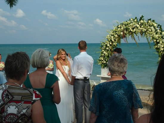 Nora Beach Resort and Spa:                   Wedding ceremony