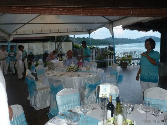 Nora Beach Resort and Spa:                   The wedding reception