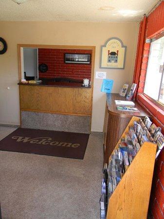 Country Inn :                   Front desk