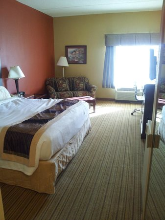 BEST WESTERN PLUS Greensboro Airport Hotel: on my way out