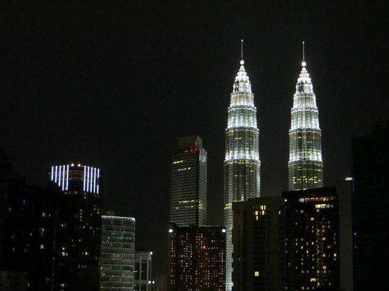 Royale Chulan Kuala Lumpur:                   View from our room