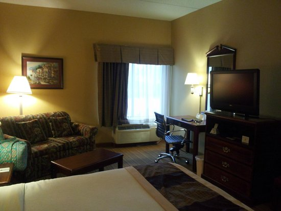 Best Western Plus Greensboro Airport Hotel: from the bed