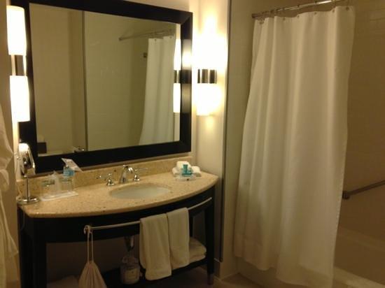 W นิวยอร์ก ยูเนี่ยน สแควร์:                   spacious bathroom